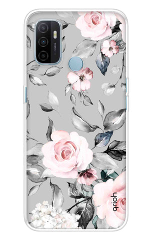 Gloomy Roses Case Oppo A53 Cases & Covers Online