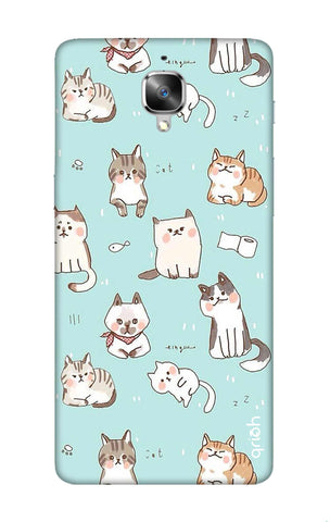 Cat Kingdom OnePlus 3 Cases & Covers Online