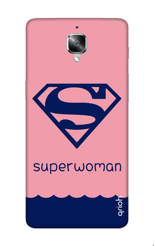 Be a Superwoman OnePlus 3 Cases & Covers Online