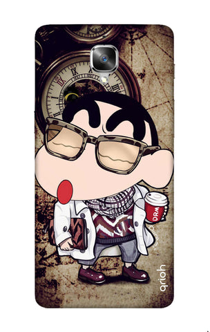 Nerdy Shinchan OnePlus 3 Cases & Covers Online