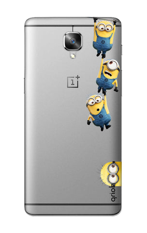 Falling Minions OnePlus 3 Cases & Covers Online