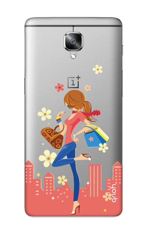Shopping Girl OnePlus 3 Cases & Covers Online