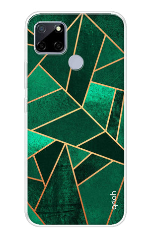 Emerald Tiles Case Realme C12 Cases & Covers Online