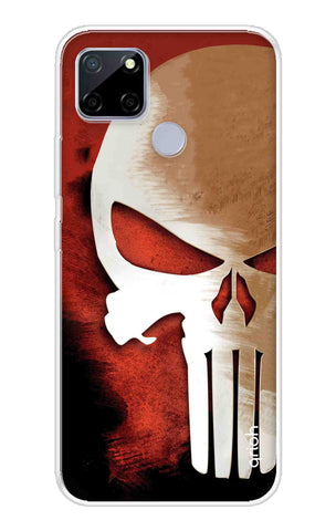 Red Skull Case Realme C12 Cases & Covers Online