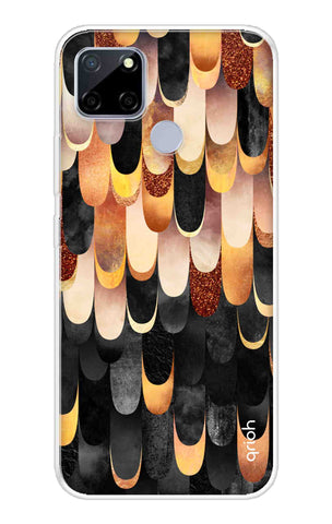 Bronze Abstract Case Realme C12 Cases & Covers Online