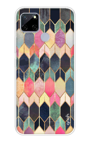 Colorful Brick Pattern Case Realme C12 Cases & Covers Online