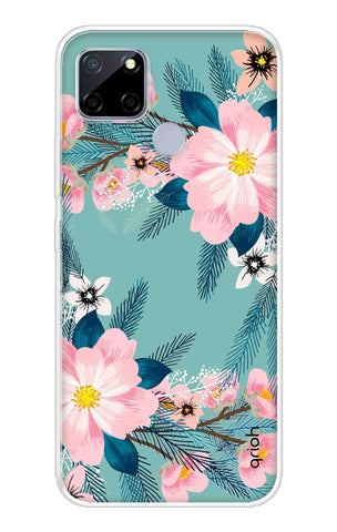 Graceful Floral Case Realme C12 Cases & Covers Online