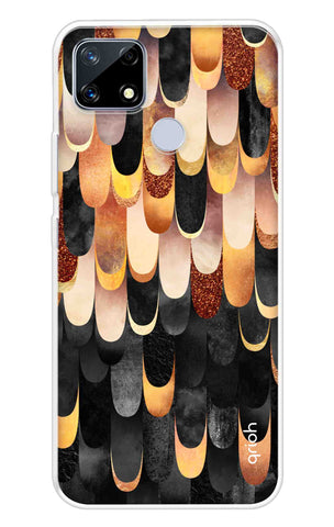 Bronze Abstract Case Realme Narzo 20 Cases & Covers Online