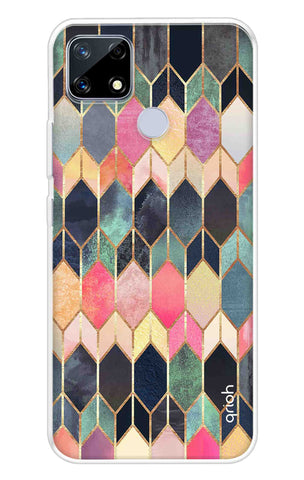 Colorful Brick Pattern Case Realme Narzo 20 Cases & Covers Online