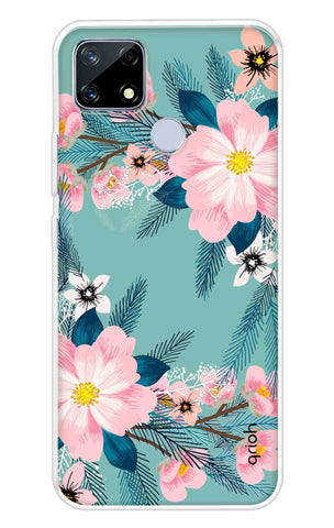 Graceful Floral Case Realme Narzo 20 Cases & Covers Online