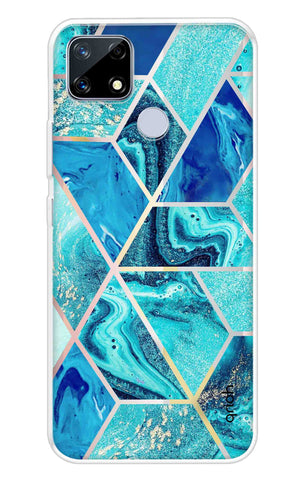 Aquatic Tiles Case Realme Narzo 20 Cases & Covers Online