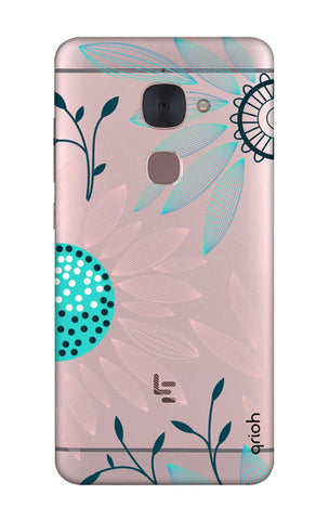 Pink And Blue Petals LeTV Le 2 Cases & Covers Online