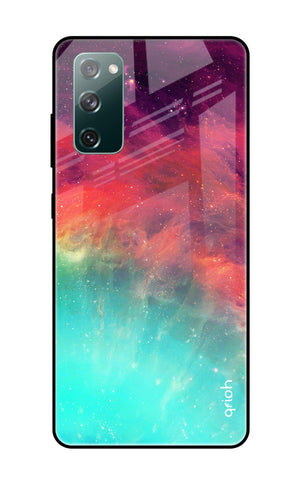 Colorful Aura Samsung Galaxy S20 FE Glass Cases & Covers Online