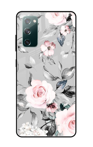 Gloomy Roses Samsung Galaxy S20 FE Glass Cases & Covers Online