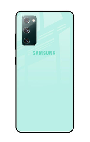 Teal Samsung Galaxy S20 FE Glass Cases & Covers Online