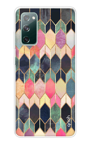 Colorful Brick Pattern Case Samsung Galaxy S20 FE Cases & Covers Online