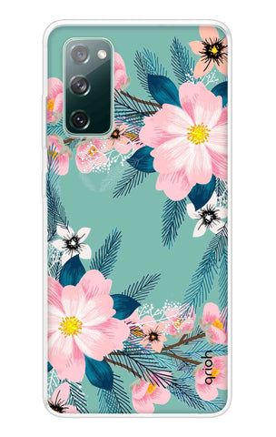 Graceful Floral Case Samsung Galaxy S20 FE Cases & Covers Online