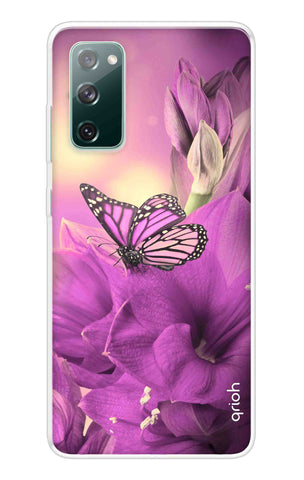 Purple Butterfly Samsung Galaxy S20 FE Cases & Covers Online