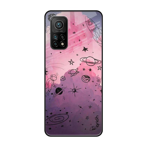 Space Doodles Xiaomi Mi 10T Glass Cases & Covers Online