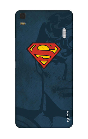 Wild Blue Superman Lenovo K3 Note Cases & Covers Online