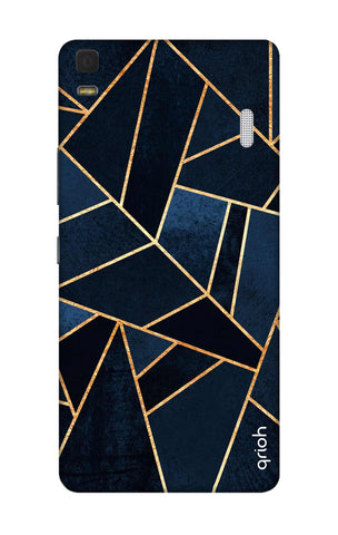 Abstract Navy Lenovo K3 Note Cases & Covers Online