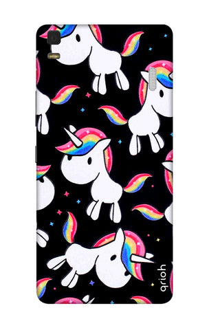 Colourful Unicorn Lenovo K3 Note Cases & Covers Online