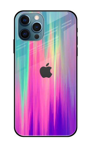 Vibrant Strokes iPhone 12 Pro Glass Cases & Covers Online