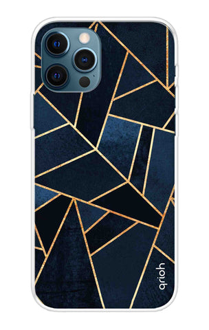 Abstract Navy iPhone 12 Pro Cases & Covers Online