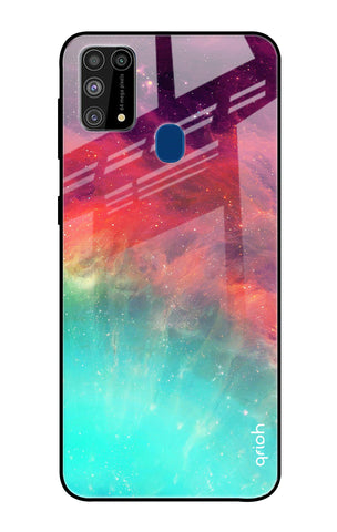 Colorful Aura Samsung Galaxy M31 Prime Glass Cases & Covers Online