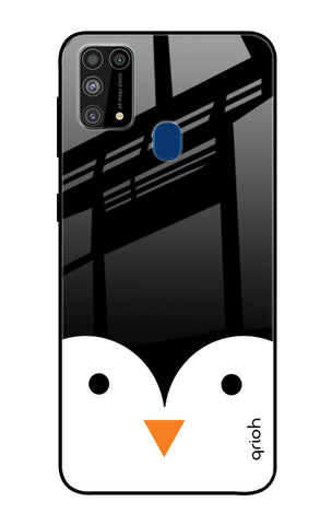 Cute Penguin Samsung Galaxy M31 Prime Glass Cases & Covers Online