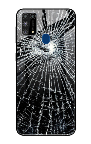 Cracked Design Samsung Galaxy M31 Prime Glass Cases & Covers Online