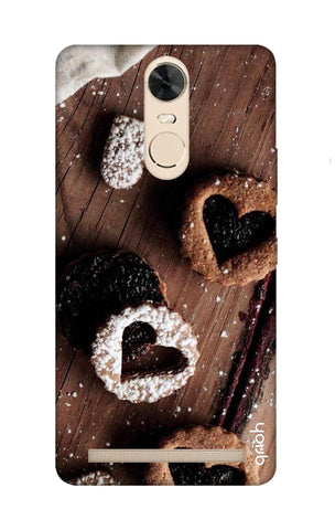 Heart Cookies Lenovo K5 Note Cases & Covers Online