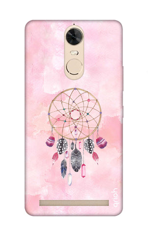 Pink Dreamcatcher Lenovo K5 Note Cases & Covers Online