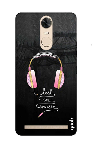 Lost In Music Lenovo K5 Note Cases & Covers Online