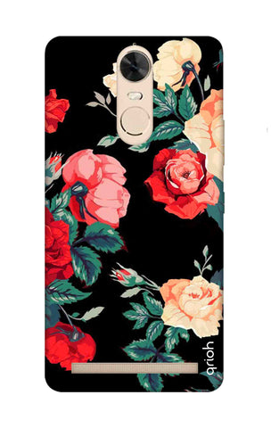 Floral Pattern Lenovo K5 Note Cases & Covers Online