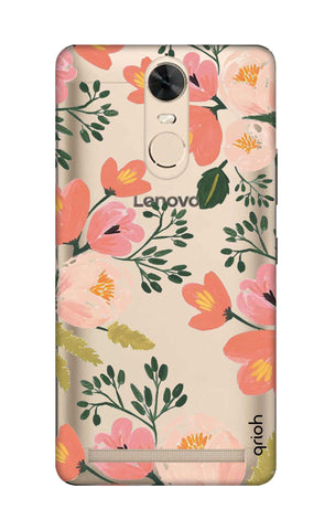 Painted Flora Lenovo K5 Note Cases & Covers Online