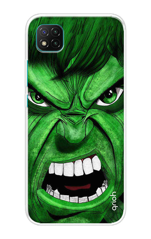 Angry Man Case Poco C3 Cases & Covers Online