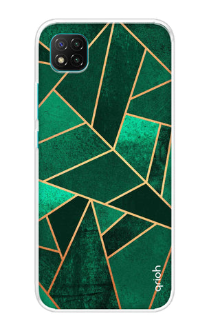 Emerald Tiles Case Poco C3 Cases & Covers Online