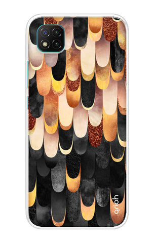 Bronze Abstract Case Poco C3 Cases & Covers Online