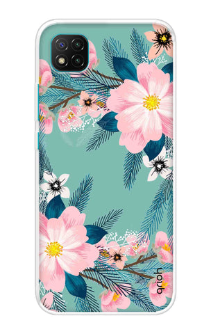 Graceful Floral Case Poco C3 Cases & Covers Online