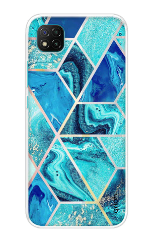 Aquatic Tiles Case Poco C3 Cases & Covers Online