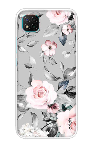 Gloomy Roses Case Poco C3 Cases & Covers Online