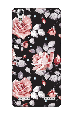 Shabby Chic Floral Lenovo A6000 Cases & Covers Online