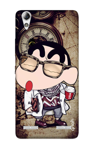 Nerdy Shinchan Lenovo A6000 Cases & Covers Online
