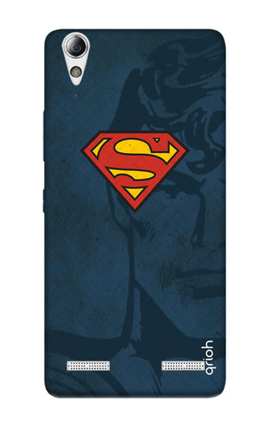 Wild Blue Superman Lenovo A6000 Cases & Covers Online