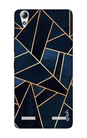 Abstract Navy Lenovo A6000 Cases & Covers Online