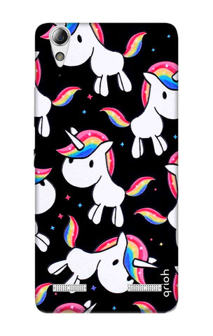 Colourful Unicorn Lenovo A6000 Cases & Covers Online
