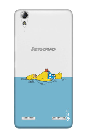 Simpson Chill Lenovo A6000 Cases & Covers Online