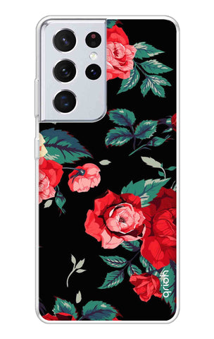 Wild Flowers Samsung Galaxy S21 Ultra Cases & Covers Online