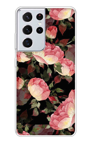 Watercolor Roses Samsung Galaxy S21 Ultra Cases & Covers Online